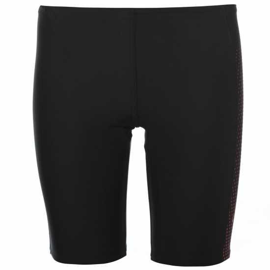 Speedo Детскоюношески Плувен Клин Gala Swimming Jammers Junior Boys Black/Red Плувни дрехи за момчета