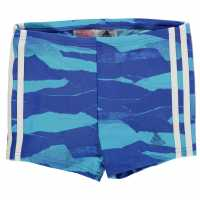 Adidas Боксерки Момчета Fit 3S Swimming Boxers Junior Boys Royal Плувни дрехи за момчета