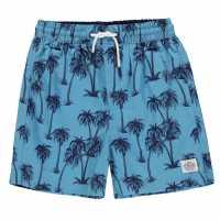 Hot Tuna Момчешки Къси Гащи Swim Shorts Junior Boys Palms Детски бански и бикини