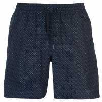 Soviet Dot Swim Shorts Navy Мъжки плувни шорти и клинове