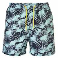 Pierre Cardin Мъжки Плувни Шорти Aop Swim Shorts Mens Navy Мъжки плувни шорти и клинове