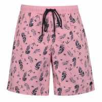 Raging Bull Pattern Swim Shorts  Мъжко облекло за едри хора
