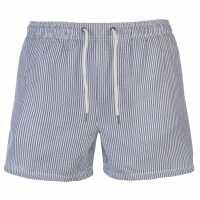Jack And Jones Мъжки Шорти Sunset Stripe Shorts Mens Light Blue Мъжки плувни шорти и клинове