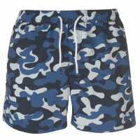 Jack And Jones Sunset Swim Shorts Navy Camo Мъжки плувни шорти и клинове