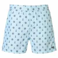 Pierre Cardin Мъжки Плувни Шорти Mix Swim Shorts Mens Sky Anchor Мъжки плувни шорти и клинове