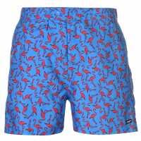 Pierre Cardin Мъжки Плувни Шорти Mix Swim Shorts Mens Royal Flamingo Мъжки плувни шорти и клинове