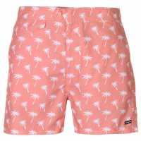 Pierre Cardin Мъжки Плувни Шорти Mix Swim Shorts Mens Coral Palm Мъжко облекло за едри хора