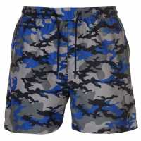 Pierre Cardin Мъжки Плувни Шорти Camo Swim Shorts Mens Blue Camo Мъжки плувни шорти и клинове