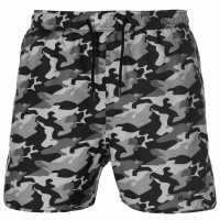 Pierre Cardin Мъжки Плувни Шорти Camo Print Swim Shorts Mens Grey Camo Мъжки плувни шорти и клинове