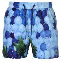 Pierre Cardin Мъжки Шорти Photo Swimshorts Mens Umbrellas Мъжки плувни шорти и клинове