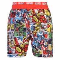 Character Мъжки Бермуди Board Shorts Mens Marvel Мъжки плувни шорти и клинове