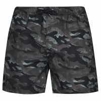 Sale Firetrap Swim Shorts Green Camo Мъжко облекло за едри хора
