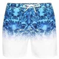 Firetrap Swim Shorts Multi Clr Wash Мъжко облекло за едри хора