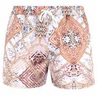 Soulcal Мъжки Плувни Шорти Print Swim Shorts Mens Chain Print Мъжки плувни шорти и клинове