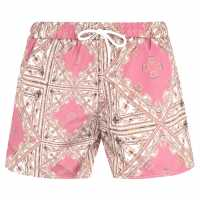 Soulcal Мъжки Плувни Шорти Print Swim Shorts Mens Aztec Print Мъжки плувни шорти и клинове
