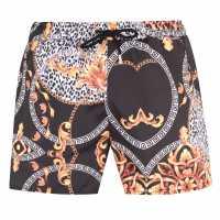 Soulcal Мъжки Плувни Шорти Print Swim Shorts Mens Animal Print Мъжки плувни шорти и клинове
