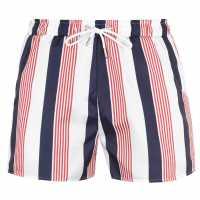 Soulcal Мъжки Плувни Шорти Print Swim Shorts Mens Multi Stripe Мъжки плувни шорти и клинове