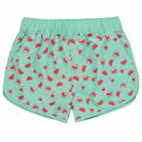 Hot Tuna Къси Панталони Момичета Tuna Swim Shorts Junior Girls Watermelon Детски бански и бикини