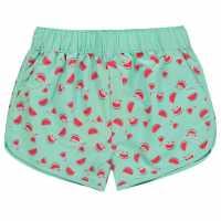 Hot Tuna Къси Панталони Момичета Tuna Swim Shorts Junior Girls Watermelon Детски бански и бикини
