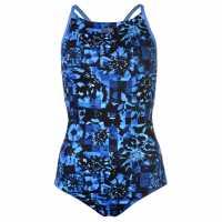 Slazenger Дамски Бански Костюм Rebecca Adlington Thinstrap Swimsuit Ladies  Дамски бански