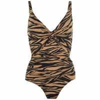 Biba Icon Swimsuit TIGER PRINT Дамски бански