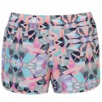 Oneill Дамски Шорти Essential Aop Shorts Ladies White AOP Дамски бански