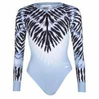 Speedo House Of Holland Long-Sleeve Swimsuit  Дамски бански