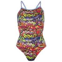 Uglies Exclusive V2 Swimsuit Womens Grafitti Дамски бански