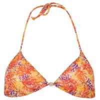 Solar Дамски Бикини В Триъгълна Форма Triangle Ladies Bikini Orange/Yellow Дамски бански