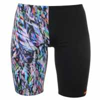 Maru Мъжки Плувен Клин Pacer Jammers Mens Ticker Tape Мъжки плувни шорти и клинове