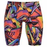 Zoggs Мъжки Плувен Клин Toggs Wall Art Jammers Mens  Мъжки плувни шорти и клинове