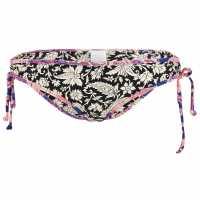 Oneill Дамско Долнище На Бански Tie Printed Bikini Bottoms Ladies Black Дамски бански