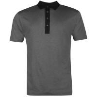 Footjoy Essential Polo Navy Мъжки тениски с яка