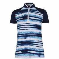 Callaway Дамска Блуза С Яка Water Ripple Polo Shirt Ladies  Дамски тениски с яка
