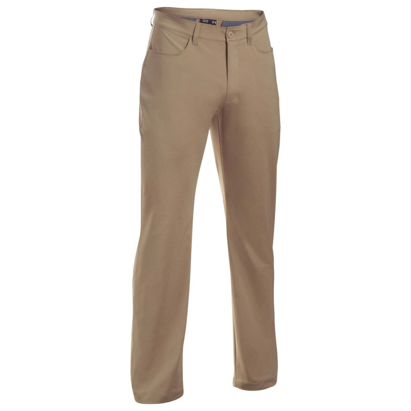 2bcd6b48202 Under Armour Мъжко Долнище Tech Golf Pants Mens Brown Дрехи за голф