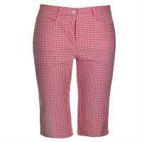 Chervo Дамски Шорти За Голф Glory Ladies Golf Shorts Red/White Дамски къси панталони