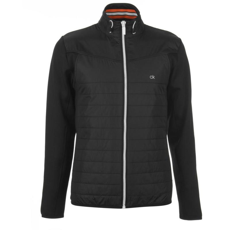 20b77218399 Calvin Klein Подплатено Мъжко Яке Padded Jacket Mens Black/Orange Мъжки  якета и палта