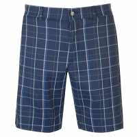 Callaway Мъжки Шорти Plaid Shorts Mens Medieval Blue Мъжки къси панталони