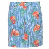 Slazenger Дамска Пола-Шорти Patterned Skort Ladies Multi Print Дамски къси панталони