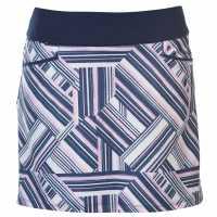 Adidas Дамска Пола-Шорти Golf Skort Ladies Navy Дамски къси панталони