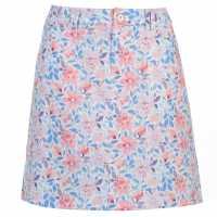 Slazenger Дамска Пола-Шорти Pattern Skort Ladies Floral Дамски къси панталони