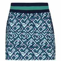 Callaway Дамска Пола-Шорти Print Skort Ladies  Дамски къси панталони