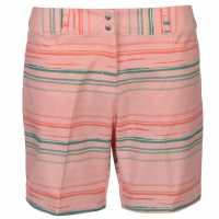 Adidas Дамски Шорти Printed Shorts Ladies Haze Coral Дамски къси панталони