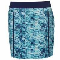 Adidas Дамска Пола-Шорти Printed Skort Ladies Night Sky Дамски къси панталони