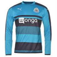 Puma Мъжка Риза Newcastle United Sweatshirt Mens Navy/AtomicBlue Мъжки полар