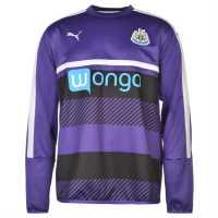Puma Мъжка Риза Newcastle United Sweatshirt Mens Team Violet Мъжки полар