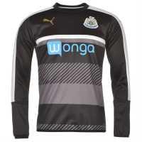 Puma Мъжка Риза Newcastle United Sweatshirt Mens Black/White Мъжки полар
