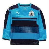 Puma Newcastle United Sweat Tops Junior Navy/AtomicBlue Детски суитчъри и блузи с качулки