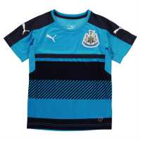 Puma Newcastle United Training Shirt Junior Navy/AtomicBlue Детски тениски и фланелки