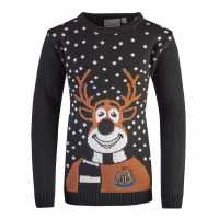 Nufc Rudolph Jumper Juniors  Коледни пуловери